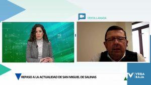 Entrevista a Juan de Dios Fresneda, alcalde de San Miguel de Salinas