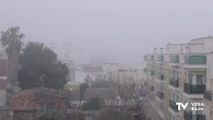 La Vega Baja amanece con niebla