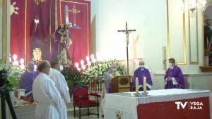 La Semana Santa oriolana ofrece misa en honor a Ntro. Padre Jesús desde el Convento de San Francisco
