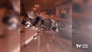 Una persecución por saltarse un control de tráfico acaba en accidente