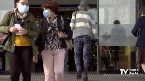 Bajan los ingresos: hay 50 pacientes el Hospital Vega Baja y 30 en el Hospital de Torrevieja