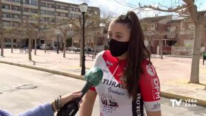 La almoradidense Melisa Gómiz se lleva la plata en el Campeonato de España de Ciclismo Adaptado