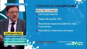 Ximo Puig no entiende que Madrid se niegue a limitar la movilidad en Semana Santa