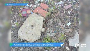 El PADER dice que hay un fosa séptica sin sellar: el ayuntamiento de Rojales lo desmiente