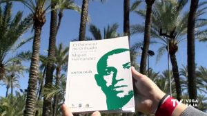 El Palmeral de Orihuela acoge versos de Miguel Hernández en una exposición