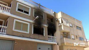 Fallece un hombre en un incendio de vivienda en Dolores y una mujer resulta herida con quemaduras
