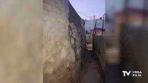 Callosa restaura el muro de la calle San Francisco Javier dañado tras el paso de la DANA