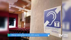 El Auditorio Municipal de Rafal adapta 30 butacas para personas con problemas de audición
