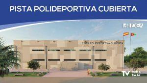 Nueva pista polideportiva cubierta en Pilar de la Horadada