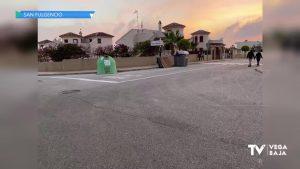 La Policía Local de San Fulgencio multa al dueño de una empresa por depositar muebles en la calle