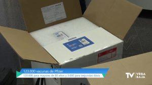 El 15% de habitantes de la Comunidad Valenciana habrá recibido la primera dosis al acabar la semana