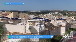 """La Policía Local de Rojales desmantela cuatro fiestas ilegales durante """"el puente"""""""