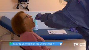 Más de 3 millones de PCR se han realizado en la Comunidad Valenciana desde el inicio de la pandemia