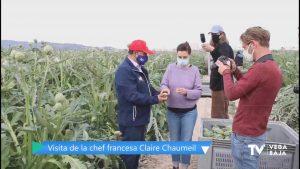 La alcachofa de la Vega Baja, en manos de una chef francesa