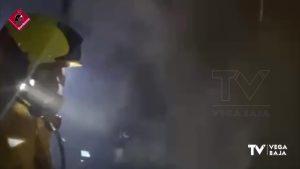 Asistidas dos personas por inhalación de humo en un incendio de vivienda en Torrevieja