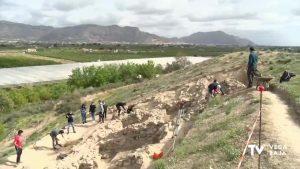 Continúa la recuperación del yacimiento de Los Saladares en Orihuela
