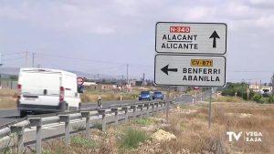 Tres carreteras de la Vega Baja, contempladas en el Plan de Mejora de la Red Viaria Provincial