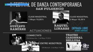 Dos bailarines muy vinculados a San Fulgencio, protagonistas del II Festival de Danza Contemporánea