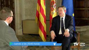Entrevista a Ximo Puig, el jueves a las 20:45 horas, en Televisión Vega Baja