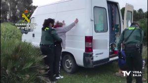 Arrancaban cajeros automáticos y se escondían en viviendas de Orihuela Costa