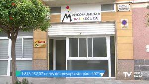 La Mancomunidad Bajo Segura aumenta su presupuesto para 2021