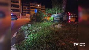 Detenido un conductor en Orihuela Costa: se negó a someterse a un test de drogas tras un accidente