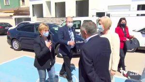 Visita de Ana Barceló al Consultorio Auxiliar de Benejúzar antes de su ampliación por 125.000 euros