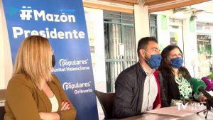 El PP de la Vega Baja apoya a Carlos Mazón en su carrera por la Generalitat