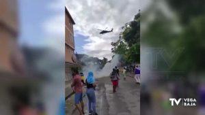 Colombianos de la Vega Baja se concentran para denunciar la represión contra sus compatriotas
