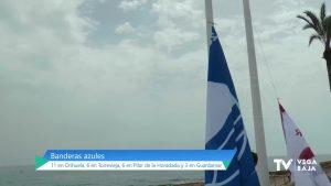 La Vega Baja revalida las 26 banderas azules que consiguieron sus playas el año pasado