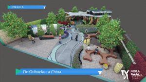 Orihuela prepara su pabellón en la 10ª Expo Internacional de las Flores de China