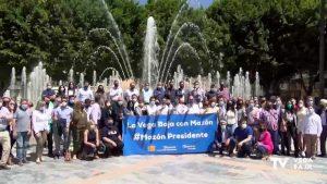 Carlos Mazón recibe el apoyo del PP de la Vega Baja en Orihuela