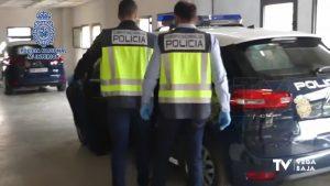 La Policía Nacional detiene a un hombre que intentó a asesinar a otro en Orihuela hace dos años