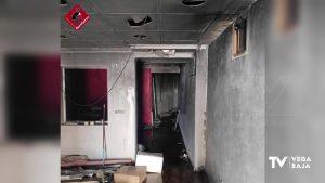 Incendio en un edificio abandonado de San Fulgencio