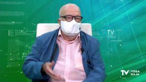 El artista torrevejense Alfonso Ortuño diseña una mascarilla para las personas vacunadas