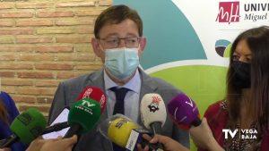 Ximo Puig anuncia que la Vega Baja alcanzará un nivel de inmunización muy alto durante el verano