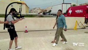 Luis Figo graba en Torrevieja un spot publicitario para la Eurocopa