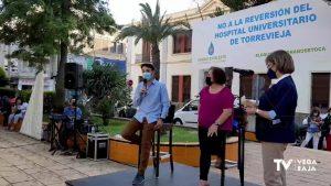 Nueva concentración contra la reversión del Hospital de Torrevieja