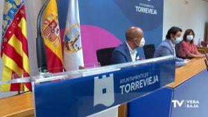 Una torre rodeada por el mar, así es la nueva imagen corporativa del ayuntamiento de Torrevieja