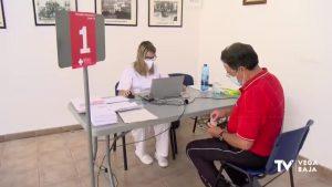 La Vega Baja tiene adjudicadas 18.510 dosis para administrar a lo largo de la semana