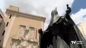 El monumento al Nazareno de Orihuela se reparará tras la colocación de cámaras de vigilancia