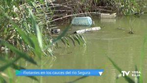 Pendiente de resolver la llegada y acumulación de residuos en el cauce del río Segura