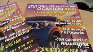 Almoradí celebra la XXVI Feria del Automóvil de Ocasión con más de 400 vehículos