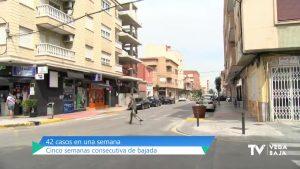La Vega Baja encadena cinco semanas consecutivas de bajada de casos de COVID-19
