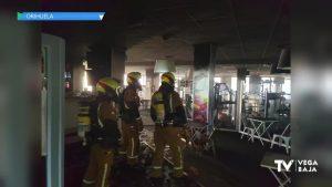 Incendio en un gimnasio de Playa Flamenca