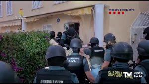 Cae una banda dedicada a robos con fuerza mediante el método de alunizaje