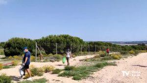 El Parque Natural de las Lagunas de la Mata y Torrevieja acumula más de 60 kilos de basura