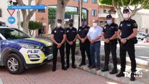 Más agentes de policía para San Fulgencio, San Isidro, Formentera del Segura, Benejúzar y Daya Nueva