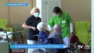 El Centro Casaverde Guardamar, entre las residencias con el 99% de inmunizados tras la vacuna