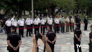 El Comisario de la Policía Nacional de Orihuela recibe el bastón de mando